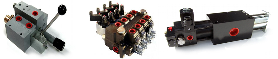 Transnordic custom built hydraulic valves