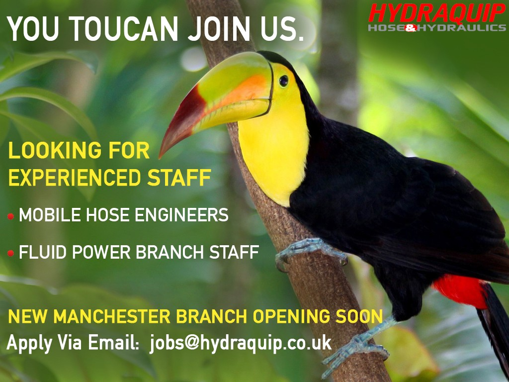 Hydraquip Manchester Job Advert