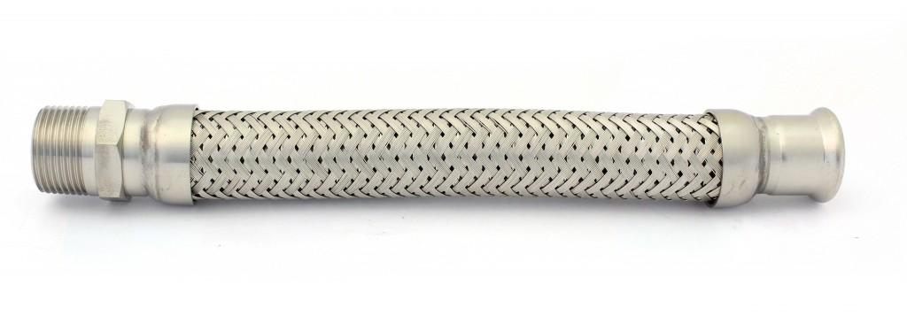 Stainless Steel Male x Mapress Hose