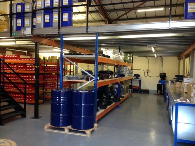Hydraulic trade counter