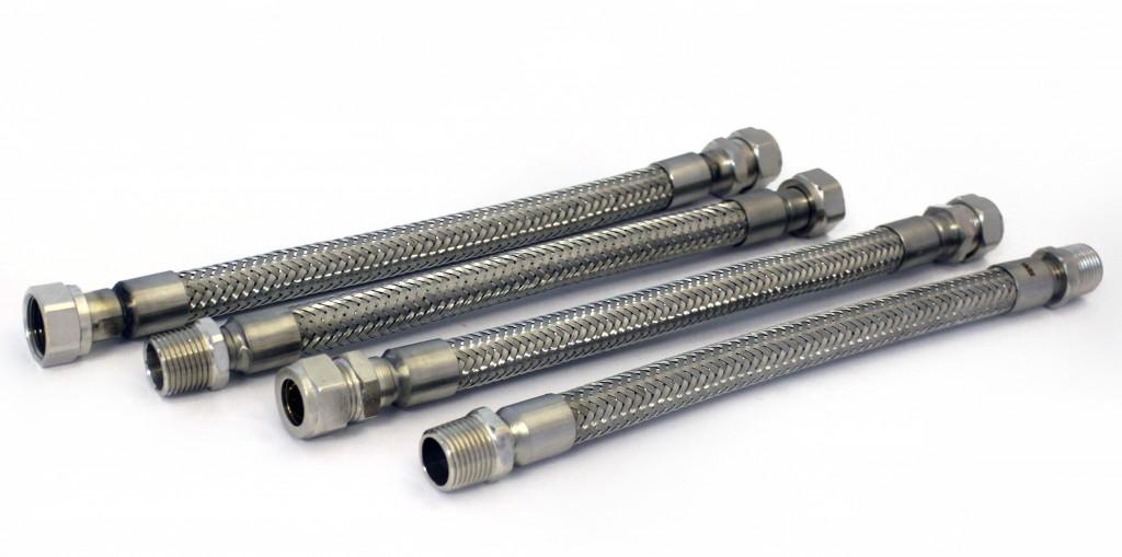 Stainless steel metal fan coil hose