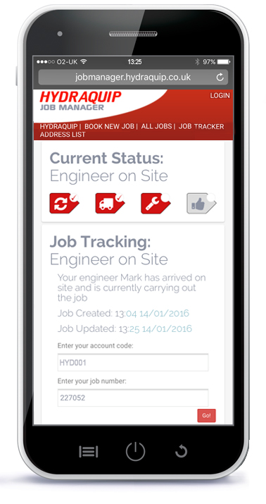 Job Manager Tracking B