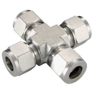 316 Stainless Steel Twin Ferrule Imperial Tube Fittings